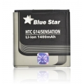 PDA BATTERY - HTC (G14) SENSATION 1400m/Ah Li-Ion BLUE STAR