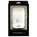 AKU iPhone 3G 1900 m/Ah Polymer (BS) PREMIUM external WHITE