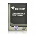 BATTERY LG L3/L5/P970 OPTIMUS BLACK/P690 OPTIMUS NET 1300m/Ah Li-Ion BLUE STAR