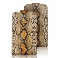 VERTICAL CASE - IPHONE 3G/3GS SNAKE SKIN COBRA SZARA
