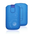 Forcell Deko Case - APP IPHONE 3G/4G/4S/S5830 Galaxy Ace/S6310 Young blue