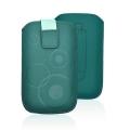 Forcell Deko Case -APP IPHONE 3G/4G/4S/S5830 Galaxy Ace/S6310 DARK GREEN
