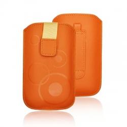 FORCELL DEKO CASE - HTC DESIRE C/S5360 Galaxy Y/S6500 GALAXY MINI 2/LG L3 ORANGE