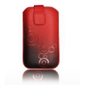 Forcell Deko 2 Case - SAMS i9000 Galaxy S/i8190 S3 Mini red