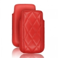 CASE FORCELL - SLIM DIAMOND - iPHONE 3G/ 4G /NOK N97/ i900 OMNIA RED