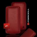 VERTICAL CASE - IPHONE 4G CARBON FIBRE RED