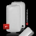 VERTICAL CASE - IPHONE 4G CARBON FIBRE SILVER