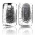 SLIM CASE CROCO SILVER - IPHONE 3GS/4G/SAM i900 OMNIA