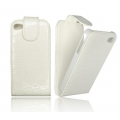 SLIM FLIP CASE CROCO 3 - SAM I9300 GALAXY S3 WHITE