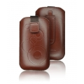 FORCELL DEKO CASE - SAMS i9000 GALAXY S//i8190 S3 MINI - BROWN