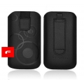 FORCELL DEKO CASE - SAMS S8530 WAVE 2/LG E900 - BLACK
