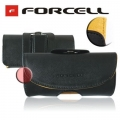 HORIZONTAL CASE FORCELL COMFORT - iPhone 3G/4G/ i900 OMNIA / NOK E71 / LG GT505 BLACK