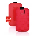 CHIC POCKET CASE MOTO - iPHONE 3G / i900 OMNIA PUNANE