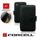FORCELL CASE - PRESTIGE - SAM I9100 GALAXY S2 BLACK BOOK STYLE