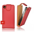 FORCELL PRESTIGE VERTICAL CASE - IPHO 4G RED