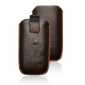 CASE FORCELL - SLIM - APP IPHO 4G BROWN
