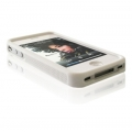 SILICONE CASE BUMPER IPHONE 4G - WHITE