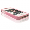 Bumper for iPhone 4 pink