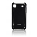 HARD CASE SAM I9000 GALAXY S BLACK