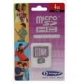 Card Micro SD HC 4GB INTEGRAL Class 4