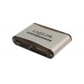 Cardreader USB 2.0 external Alu LogiLink