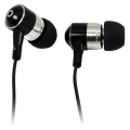 Stereo In-Ear Earphone black LogiLink