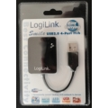 Hub 4-port.Logilink UA0139 black smile