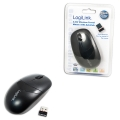 Mouse Optical Wireless 2.4 GHz with 3 Button, white LogiLink