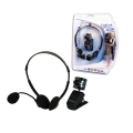 USB Webcam with LED Lighting & Headset