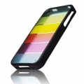 BACK CASE - APP IPHO 4/4S RAINBOW