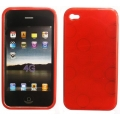 BACK CASE LUX - APP IPHO 4G RED
