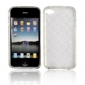 BACK CASE LUX - APP IPHO 4G WHITE