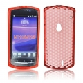 BACK CASE LUX - SE XPERIA NEO (MT15i)/NEO V ORANGE