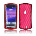 BACK CASE LUX - SE XPERIA NEO (MT15i)/NEO V RED