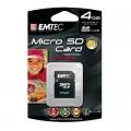 Card Micro SD 4GB Emtec