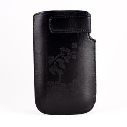 PU Pouch black fastener velcro XXL SAM I9100