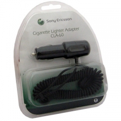 Original car charger SE K750/K800  [CLA-60] EUROBLISTER