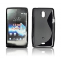 BACK CASE S-line - SON Xperia T/LT30P BLACK
