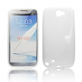 BACK CASE S-line - SAM N7100 GALAXY NOTE 2 WHITE