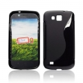 BACK CASE S-line - SAM I9260 GALAXY PREMIERE BLACK