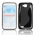 BACK CASE S-line - SAM I8750 ACTIV S BLACK