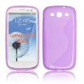 BACK CASE S-line - SAM I9300 GALAXY S3 VIOLET