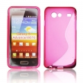 BACK CASE S-line - SAM I9070 GALAXY S ADVANCE PINK