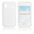 BACK CASE S-line - SAM I9070 GALAXY S WHITE