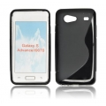 BACK CASE S-line - SAM I9070 GALAXY S ADVANCED BLACK