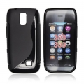 BACK CASE S-line - NOK 308 BLACK