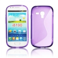 BACK CASE S-line - SAM I8190 GALAXY S3 mini VIOLET