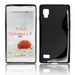 BACK CASE S-line - LG L9 BLACK