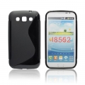 BACK CASE S-line - SAM I8550 GALAXY VIN BLACK