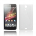 BACK CASE S-line - SON Xperia ZR white